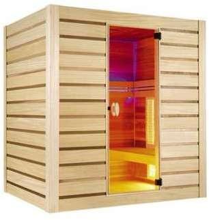 Sauna Hybride Combi - 4 places