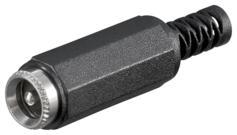 Fiche 2 1 mm DC basse tension