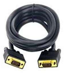 Câble VGA doré Goobay - 10