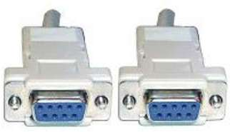 Câble Null modem DB 9 - 2m