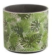 Cache Pot en Céramique Tropical