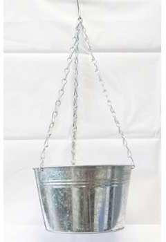 Pot zinc H 13 cm D 21 50 cm