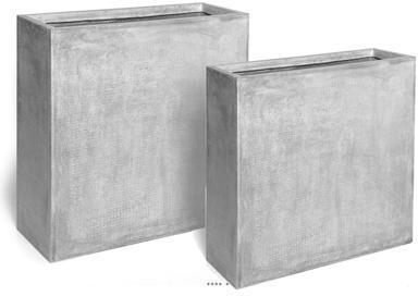 Claustra 80 X 30 XH 92 gris