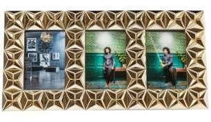 Cadre photo design en acrylique