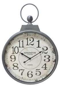 Horloge murale à aiguilles