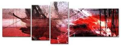 Toile imprimée abstraite 4