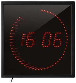 Horloge à LED 3D RED
