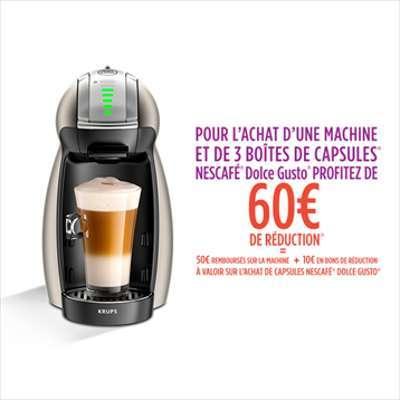 Cafetière Nescafe Dolce Gusto