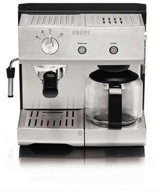 Cafetière combine espresso