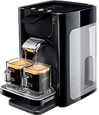 cafetiere dosette philips senseo quadrante noir hd7866 61. Black Bedroom Furniture Sets. Home Design Ideas