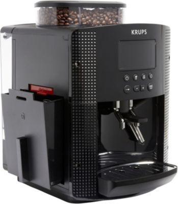 expresso broyeur krups espresso full auto compact avec cran et buse vapeur yy8135fd 15 bars. Black Bedroom Furniture Sets. Home Design Ideas