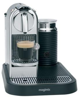Nespresso Citiz Milk chromé