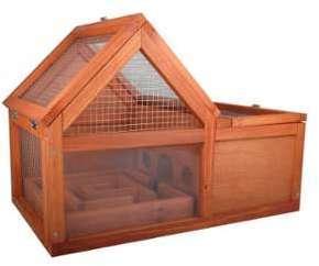 Cage bois Maze pour hamster