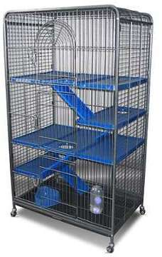 Cage tower XL pour petits