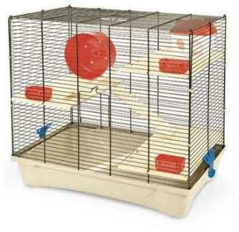 Cage HAMSTER 12 rouge