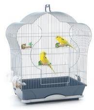 Cage oiseaux Elise 40 argent