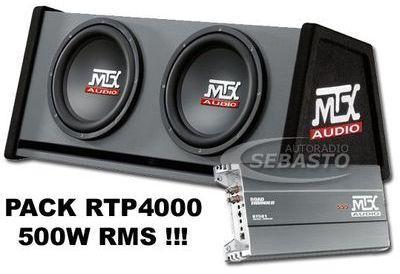 CAISSON AMPLIFIE MTX RTP4000