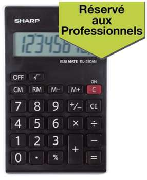 Calculatrice de bureau Sharp