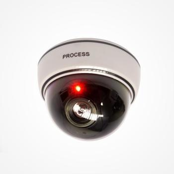 Caméra factice dôme avec LED