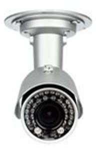 Caméra IP fixe PoE extérieure