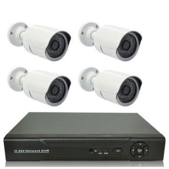 Kit vidéo-surveillance 4 caméras