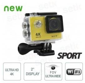CAMERA SPORT 4K Ultra-HD Wifi