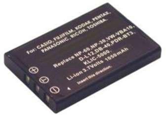 Batterie 3 7V 1150 mAh NP-60