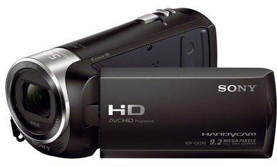 SONY Caméscope HDR-CX240 Noir