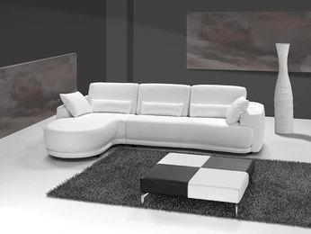 Canapé d angle cuir italien