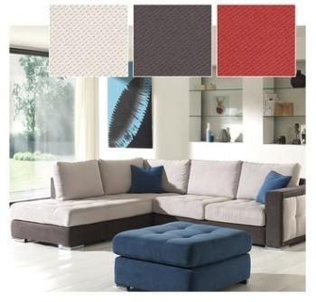 Canapé d angle en tissu OLMETO