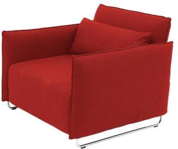 Cord - Fauteuil lit - rouge