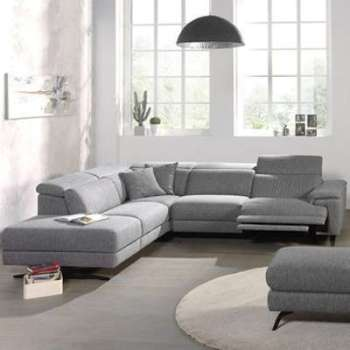 Canape d angle relax en tissu