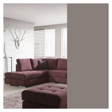 Canapé d angle prune en tissu
