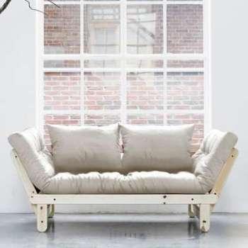 Beat Naturel futon écru