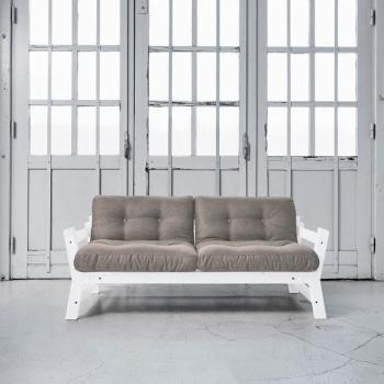 Step blanc futon granite grey