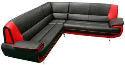 Canapé d angle design en pvc