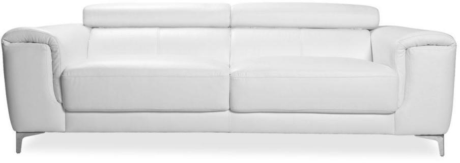 Canapé cuir design trois places