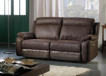 Canapé 3 places avec 2 relax