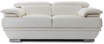 Canapé cuir design deux places
