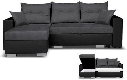 Canapé d angle à gauche convertible