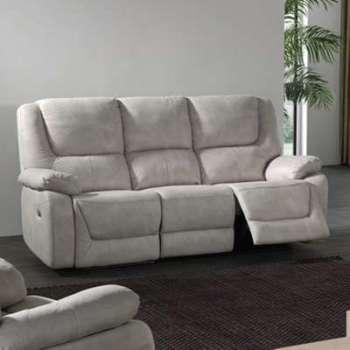 Canapé 3 places relax électrique