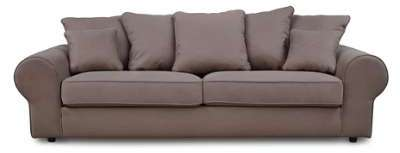 Canapé fixe en tissu 3 places