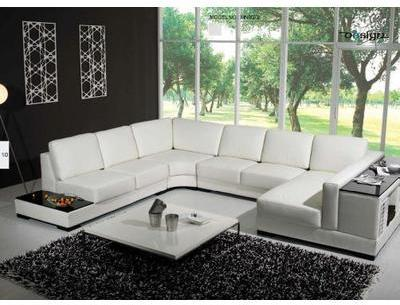 CANAPE CUIR 6 7 PLACES BRENDY