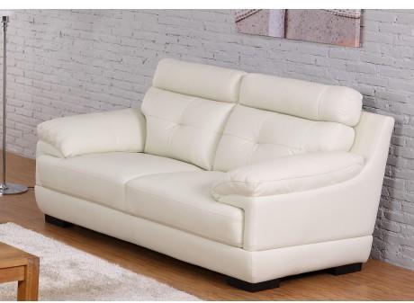 Canapé 2 places en cuir de