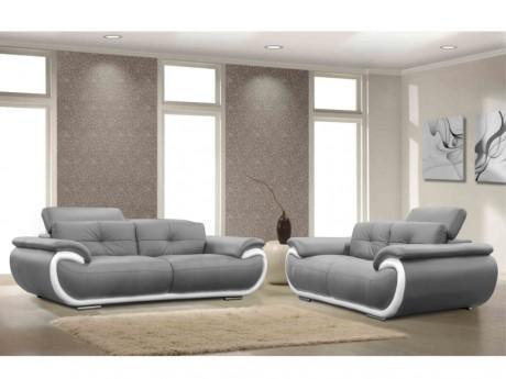 Canapé 3 2 places en cuir