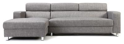 Canapé d angle design gris