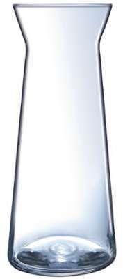 Carafe à eau conique en verre