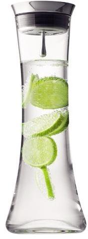 Carafe à eau avec filtre Menu