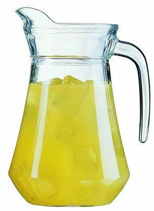 Carafe en verre - Carafe Broc