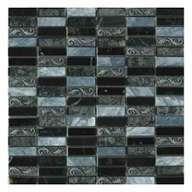Mosaïque Crystal piedra gris